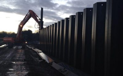 Recent Movax Sheet Piling Projects…
